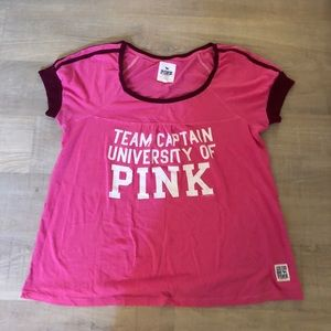 VS PINK Rugby T-Shirt (Rare to find)